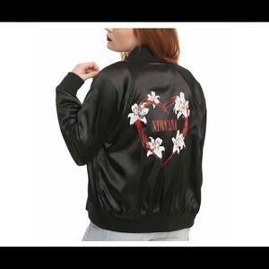 Nirvana bomber jacket